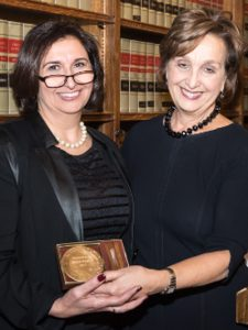 Professor Reem Bahdi and Linda Rothstein