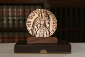 Photo of the Guthrie Award medal