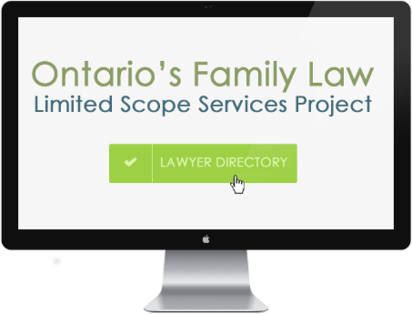 Ontario's Family Law Limited Scope Services