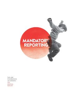 2011 Annual Report Mandatory Reporting