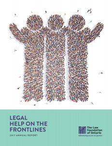 2017 Annual Report, Legal help on the frontlines