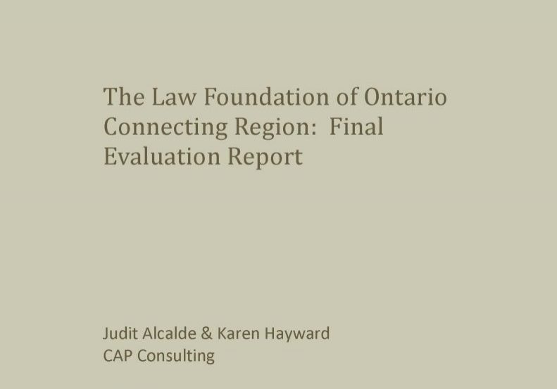 Connecting Region: Final Evaluation Report